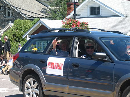Mitford Days Parade in Blowing Rock